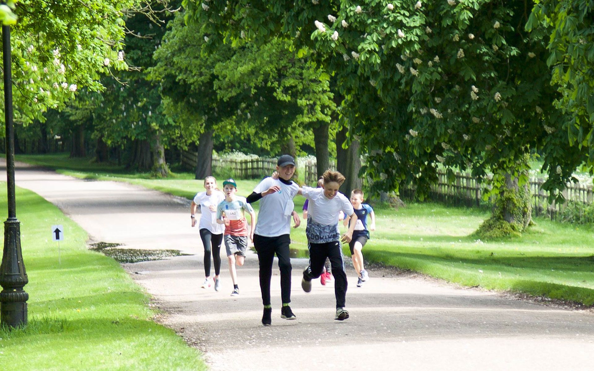 Each year the charity holds a 10K fun run/walk around the Welbeck Estate.