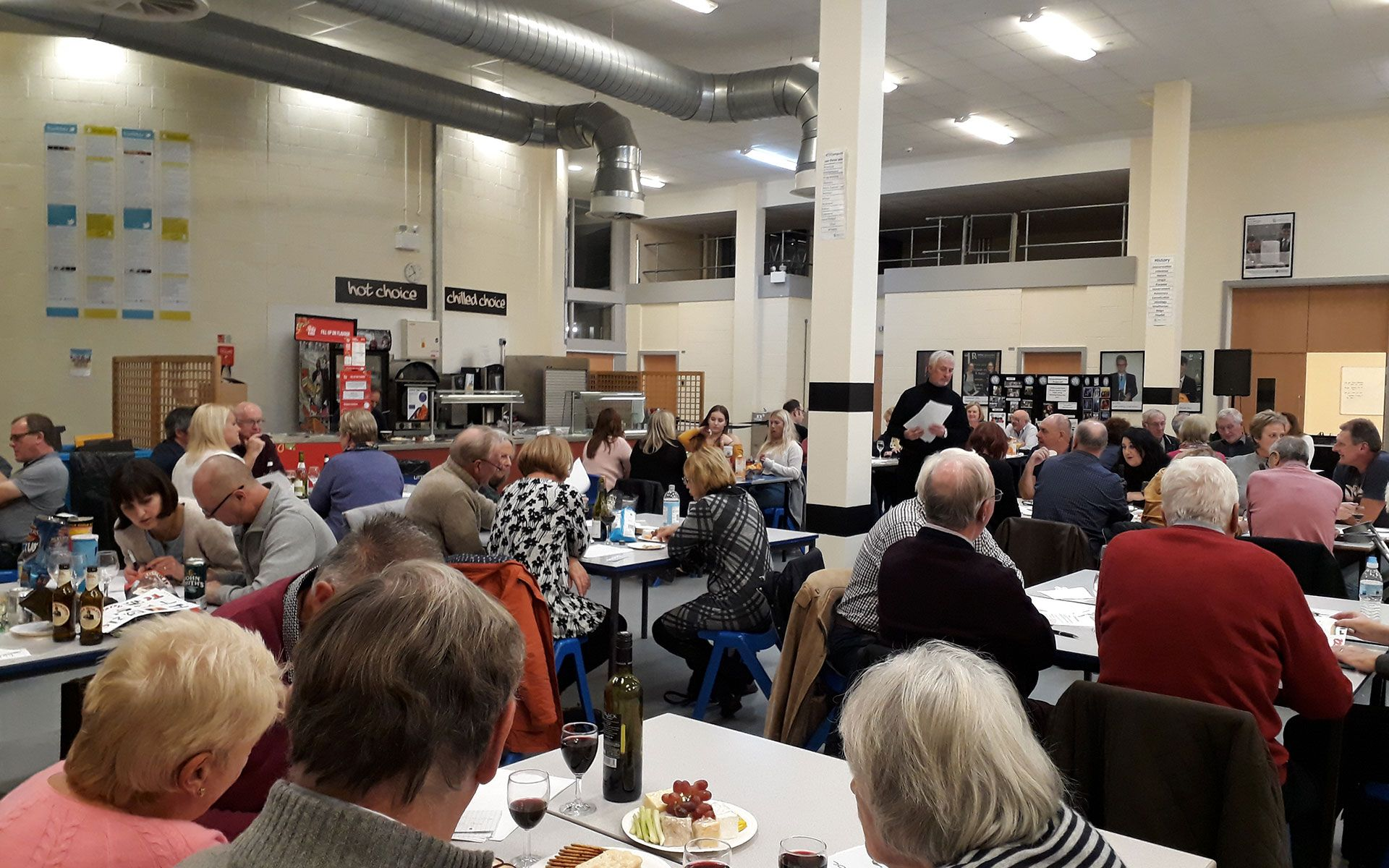 The annual Quiz Night at Retford Oaks Academy is a fabulous fundraising event.